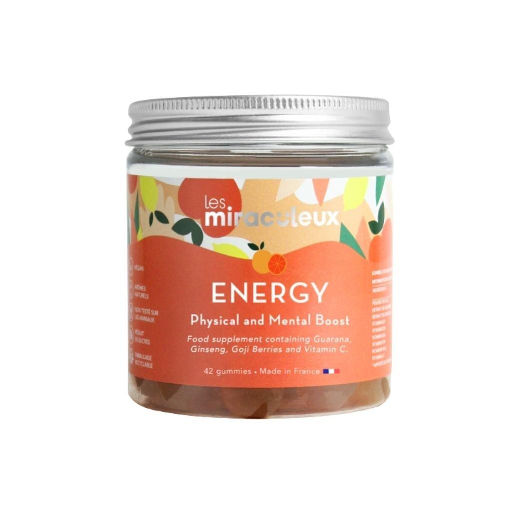 Miraculeux Energy Gummies žuvacie pastilky fyzická a duševná posila