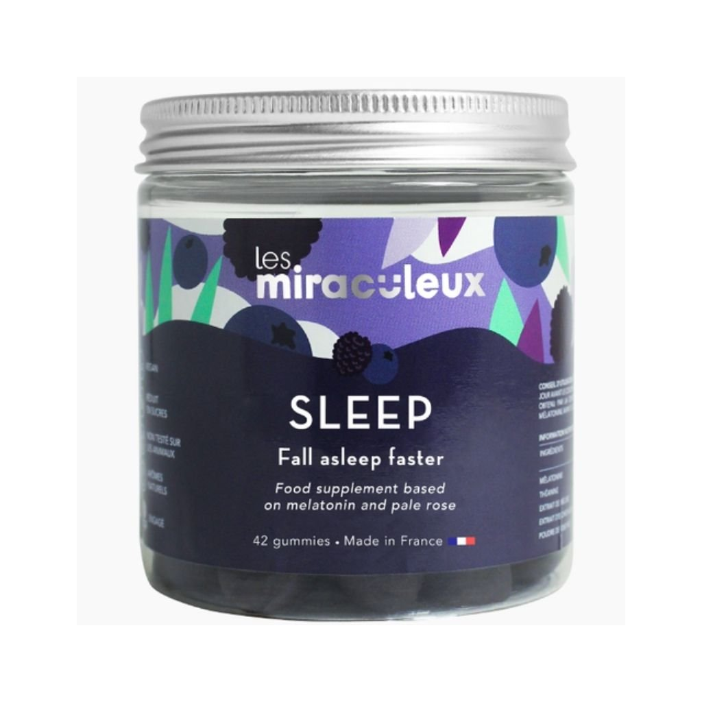 Les Miraculeux Sleep Gummies žuvacie pastilky na dobrý spánok 42 ks