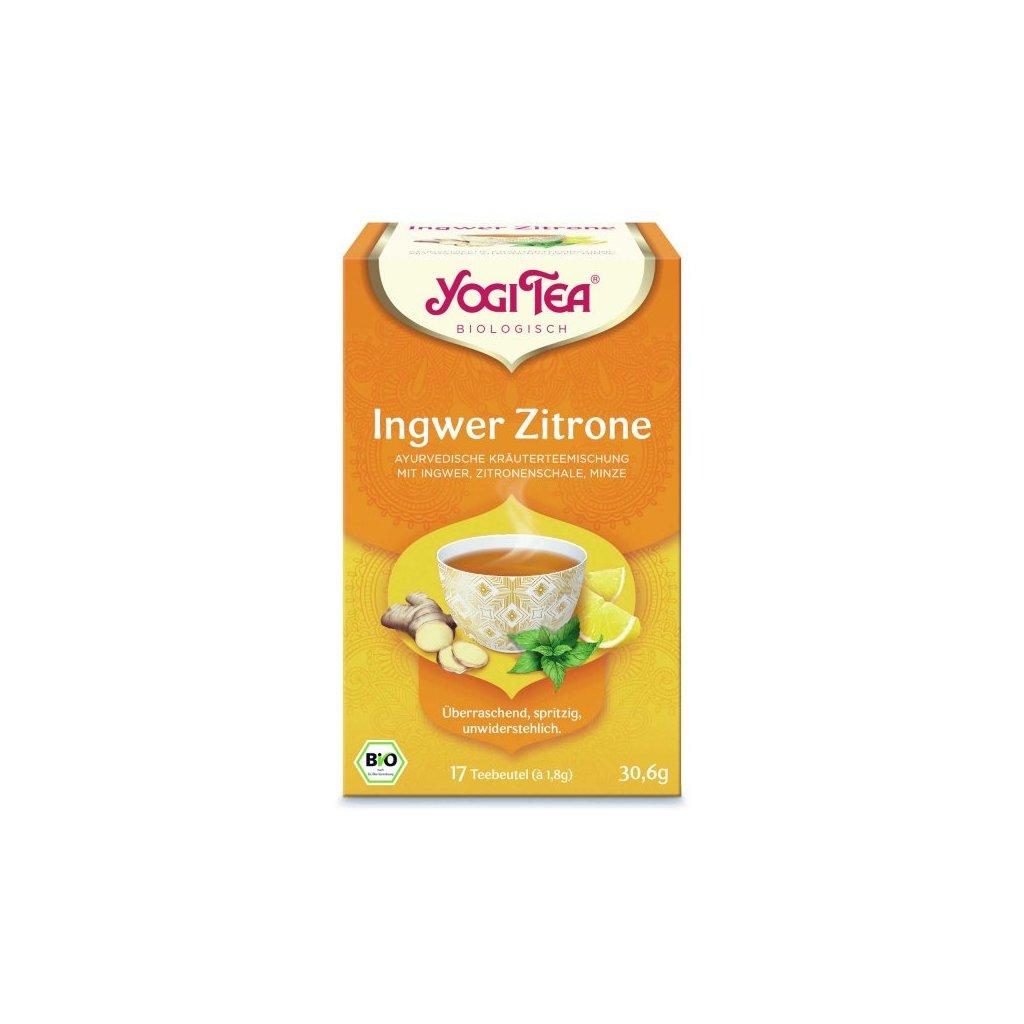 Yogi Tee Ingwer Zitrone 2