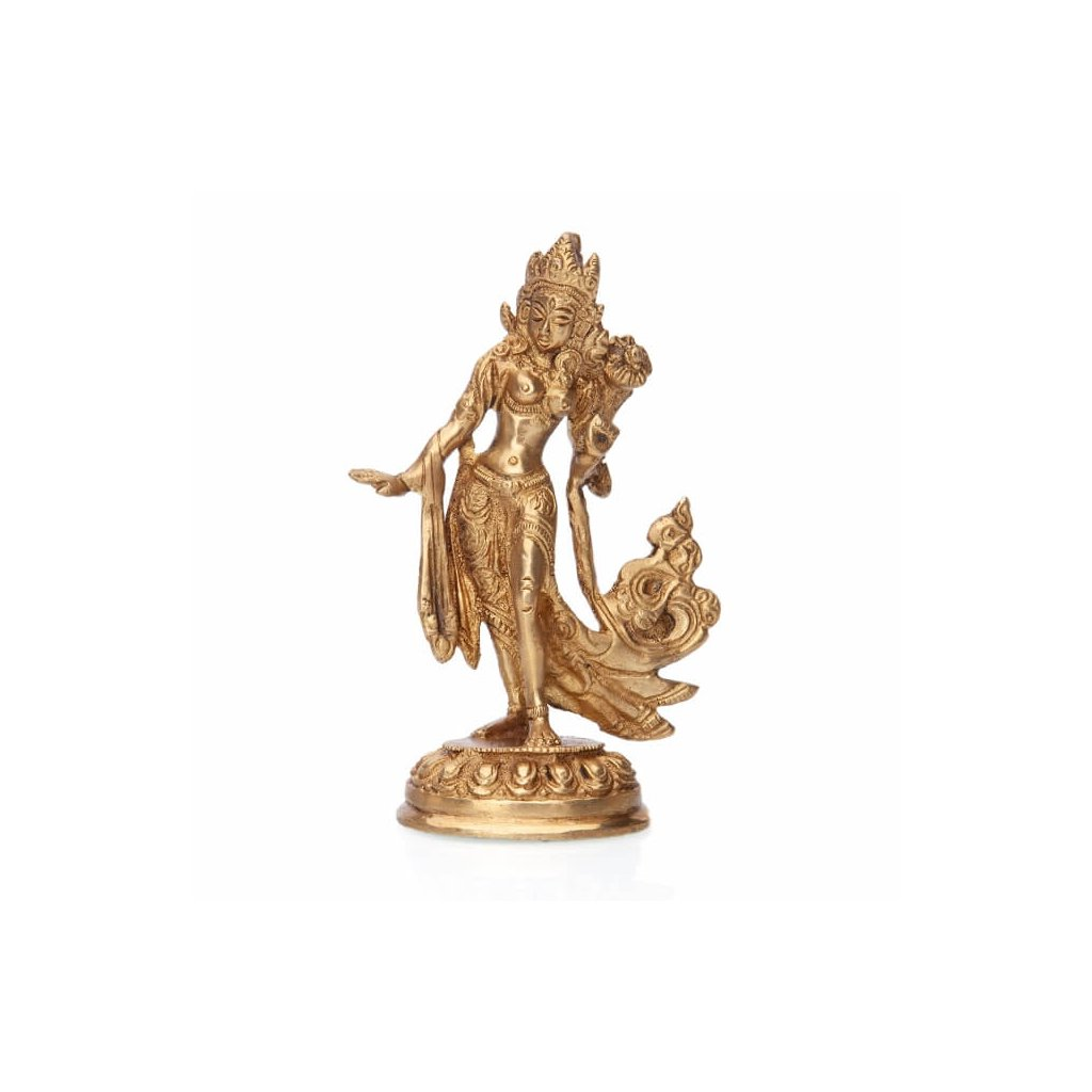 ttar13 meditation tanzende tara messing