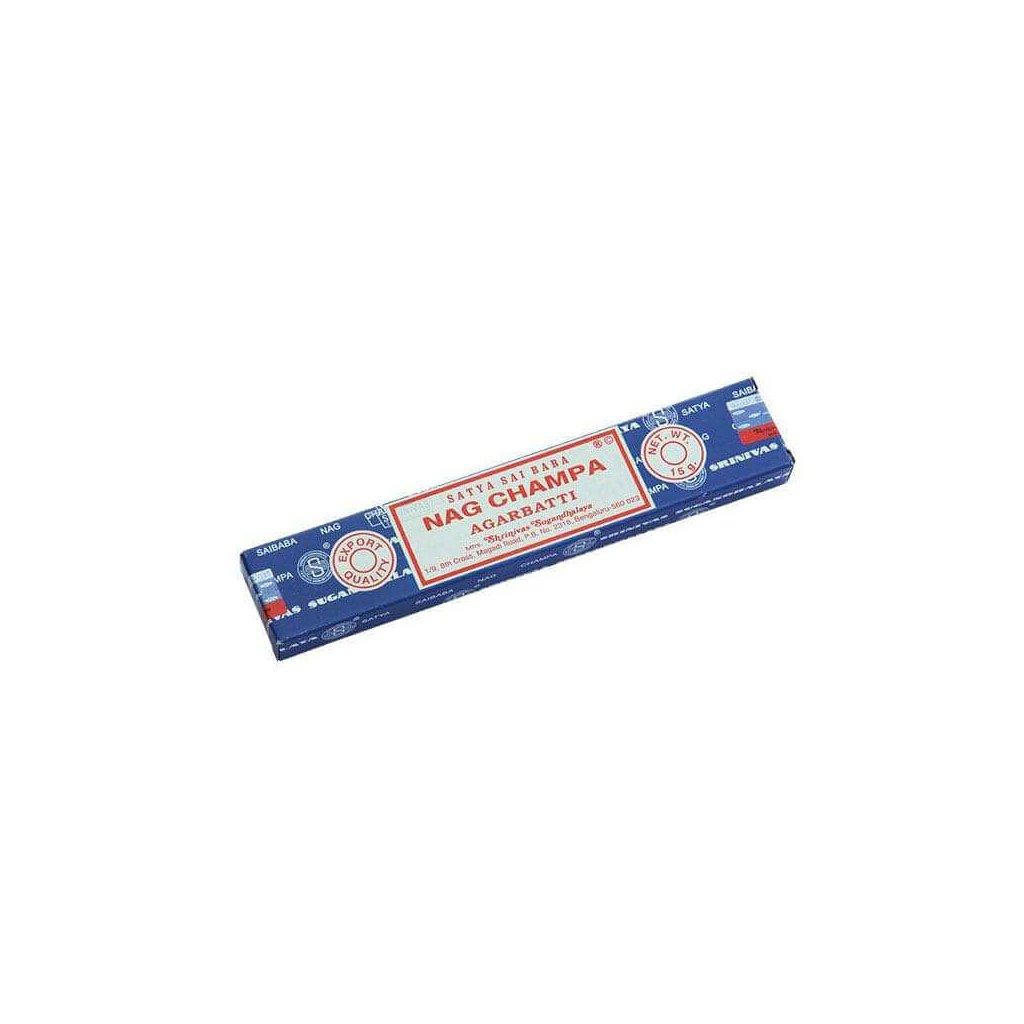 Bodhi Sai Baba Nag Champa füstölő pálca 15 g