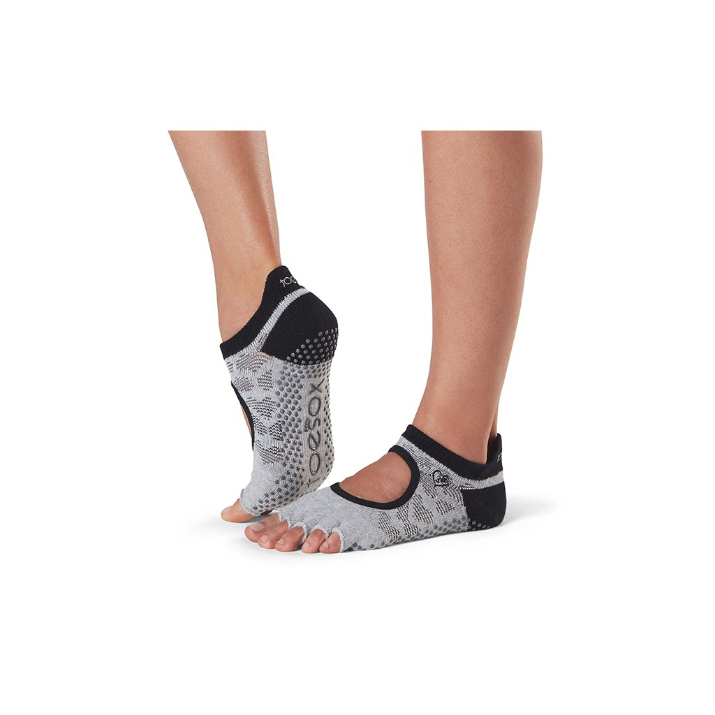 Toesox Halftoe Bellarina Grip protišmykové ponožky (Infinite) (Veľkosť oblečenia M 39-42.5)