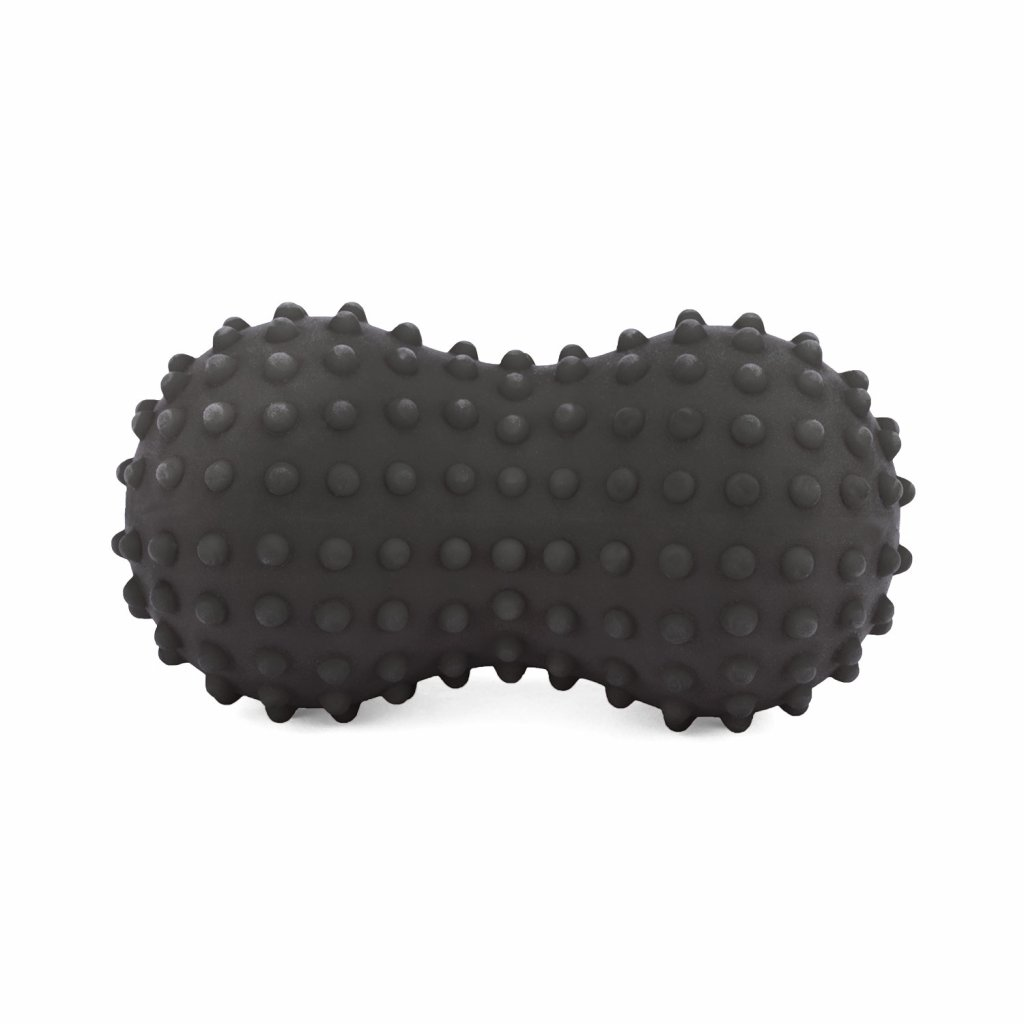 spnb2 pilates fitness spiky peanut massageball anthrazit bodhi