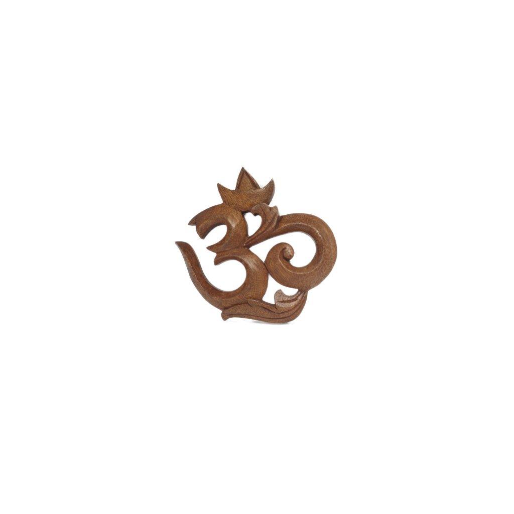7163 flexity drevena dekoracia so symbolom om