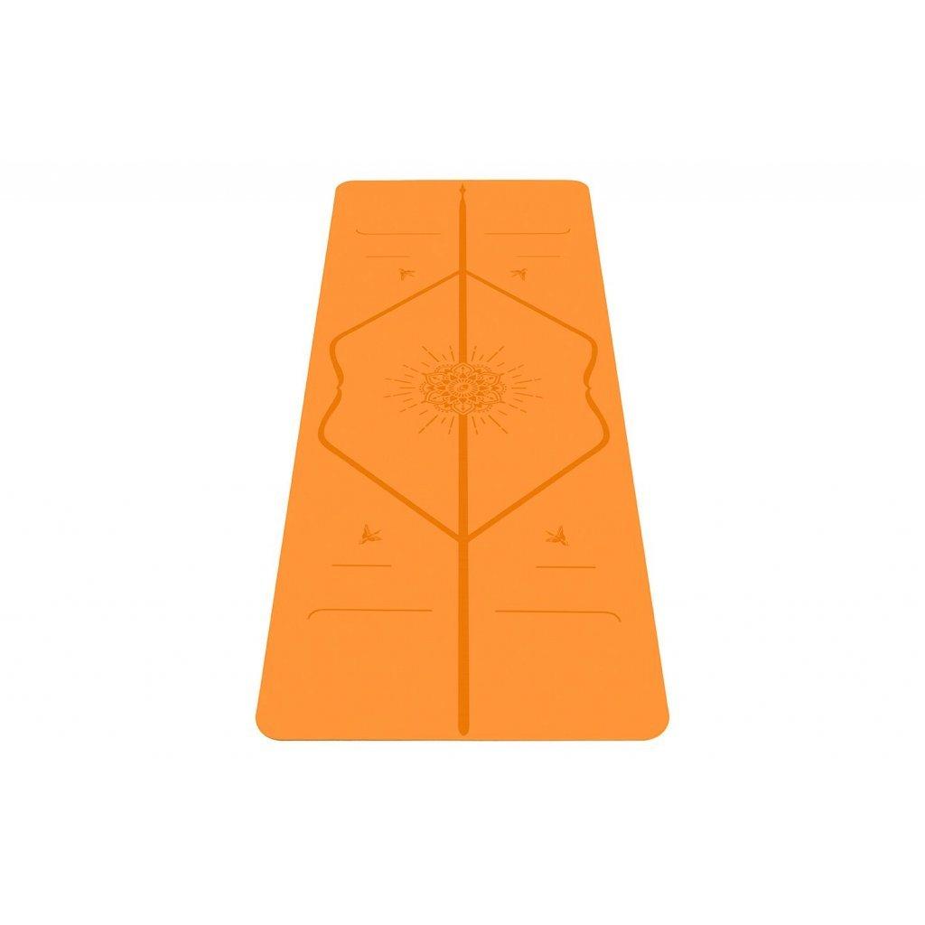7610 7 liforme happiness travel mat joga podlozka 2 mm zlto oranzova
