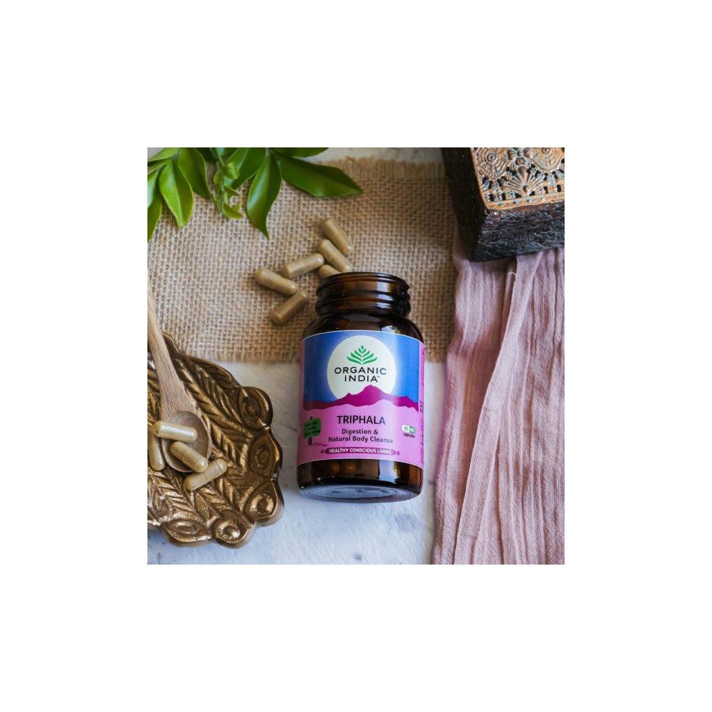 Organic India Triphala kapszula 60 db szervezet méregtelenítése