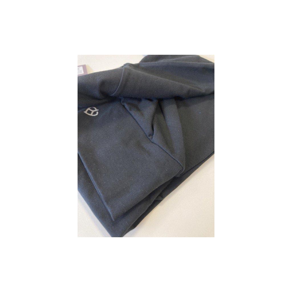 ea00a yamadhi basic leggins cross waist black front