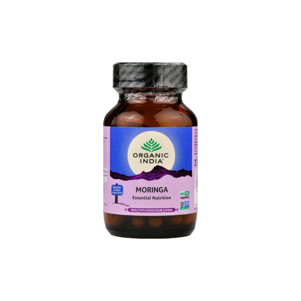Moringa kapsuly Organic India