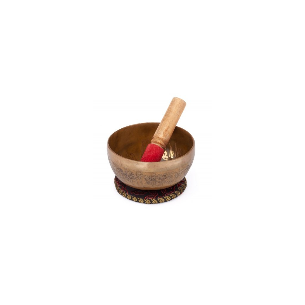 tibetska miska s Budhom 1