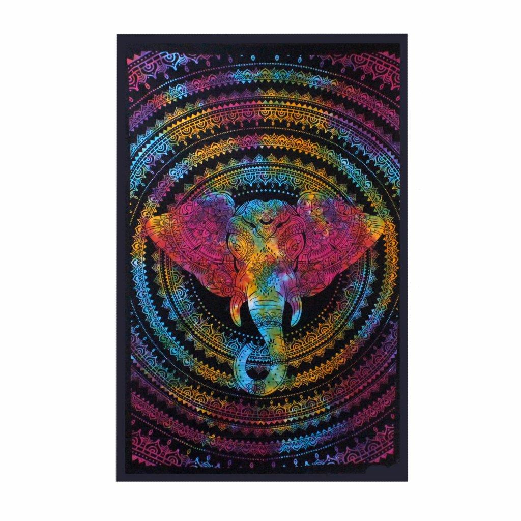 8531 nastenna plachta prikryvka slon 130 x 200 cm