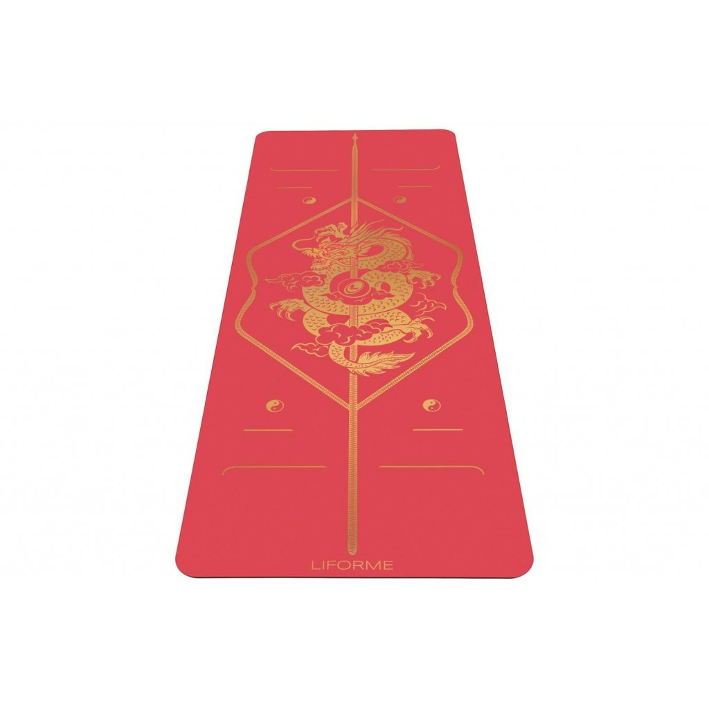 liforme yoga mat dragon