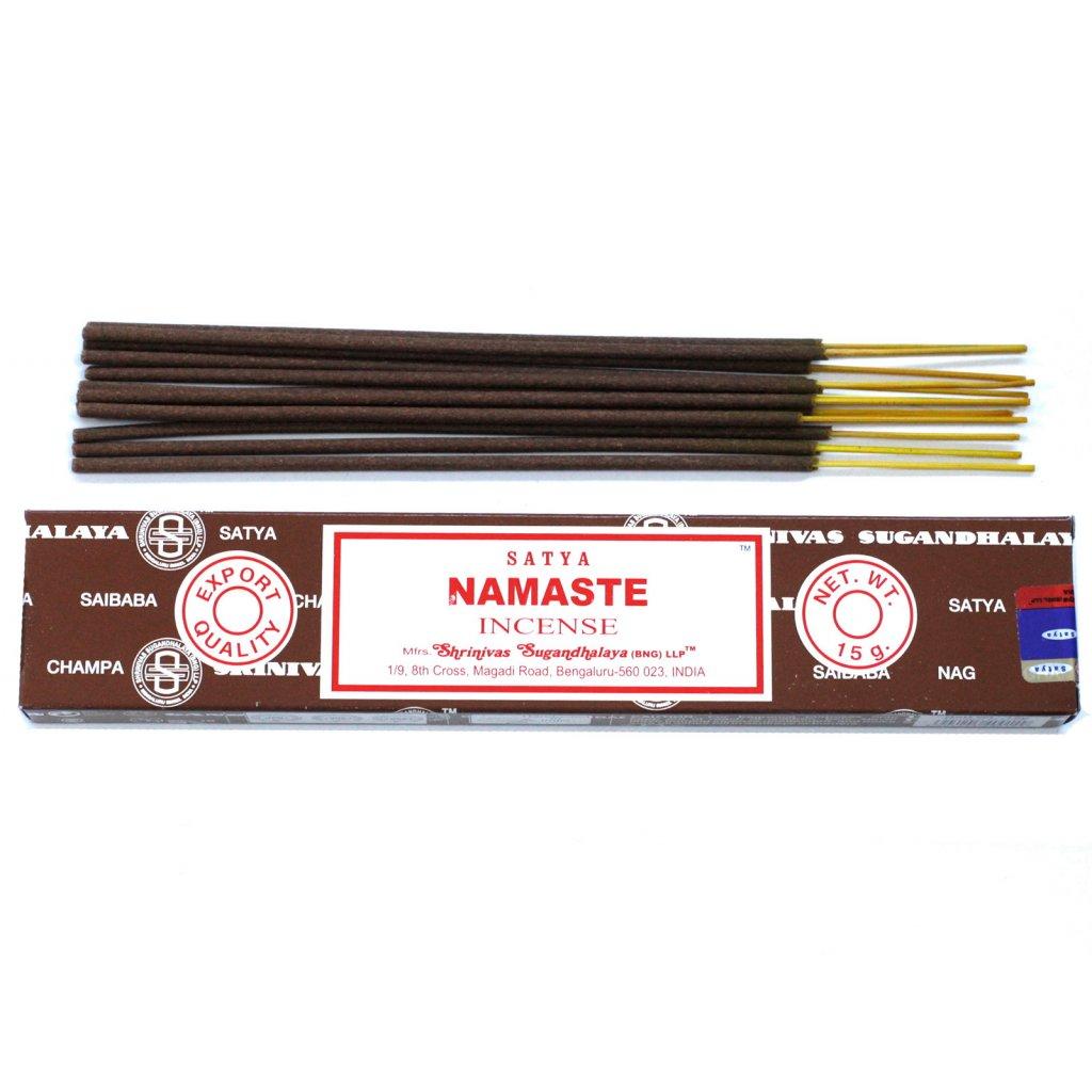 AWG Satya füstölő pálca Namaste 15 g