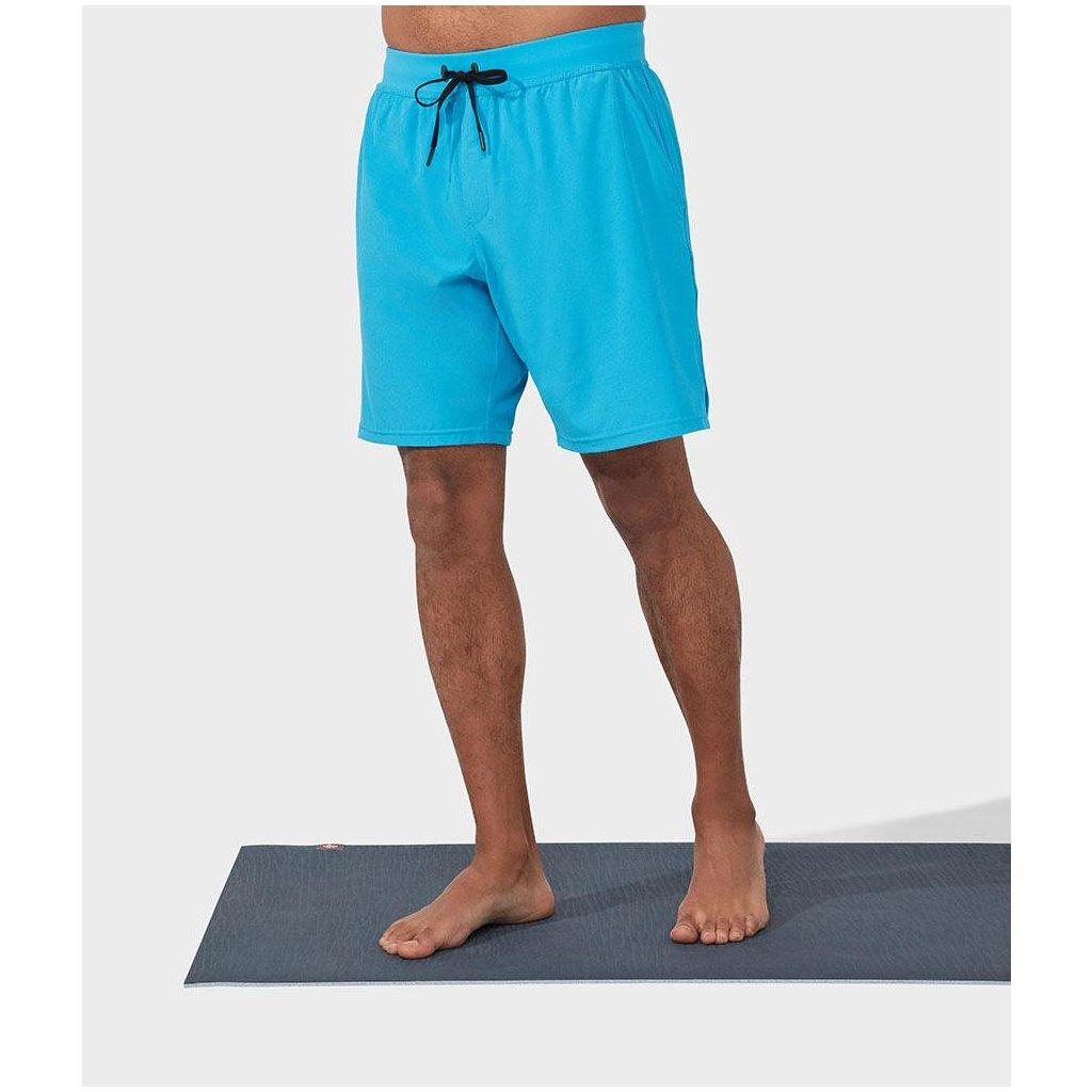 MANDUKA férfi nadrág Agility Shorts Dresden Blue kék