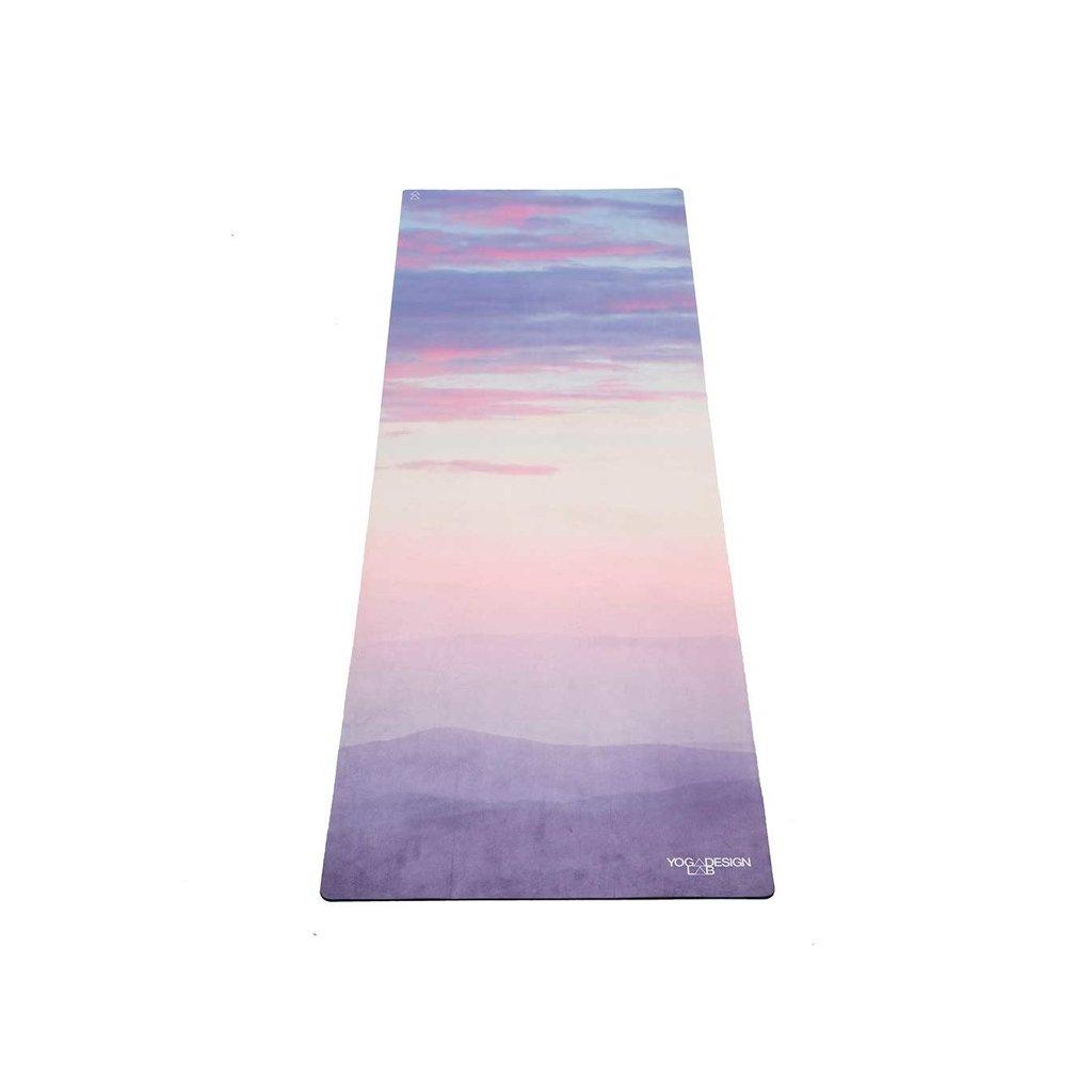 Yoga Design Lab Combo Mat Breathe design jóga szőnyeg hordszíjjal 178 x 61 cm x 3,5 mm