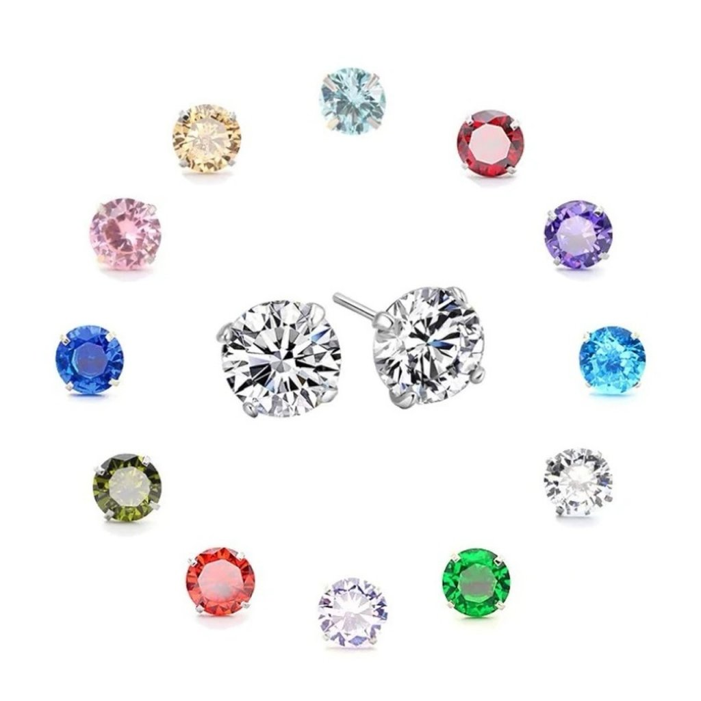 tachyonizovane nausnice earrings sterlingsilver 5 mm