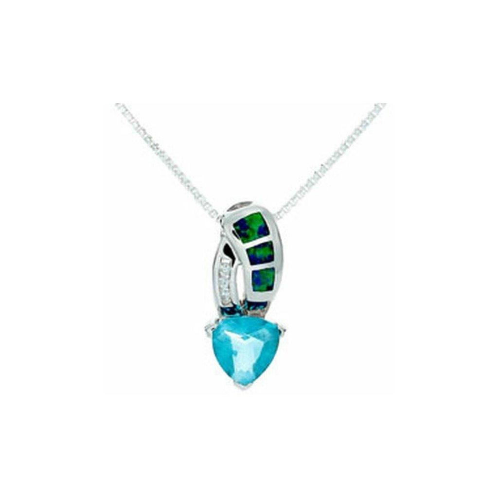 tachyonizovany privesok waterdrop tachyon pendant opal 2 farby