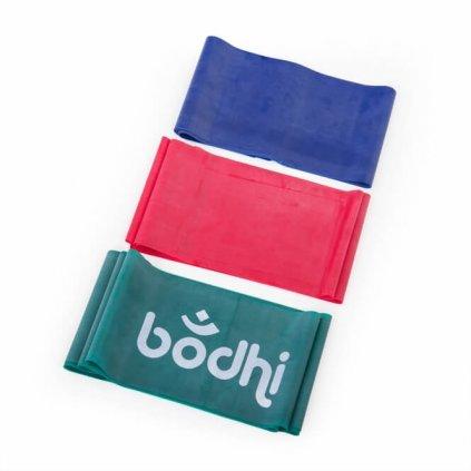 Bodhi Thera-Band erősítő gumi 2,5 m (Szín Kék)
