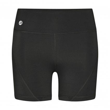 ns0200xs shorty niyama essentials wmn biker shortie schwarz front