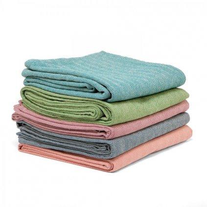 bodhi nidra bavlnena deka na jogu 150 x 200 cm