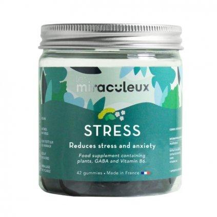 Miraculeux Stress Gummies žuvacie pastilky proti stresu