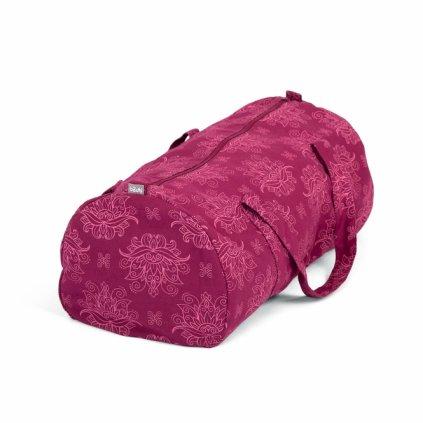 545ml maharaja collection yoga gemusterte hot yoga bag lotus berry