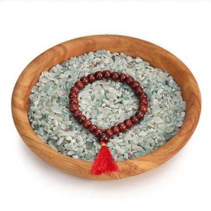 487ror yoga armband mala rot