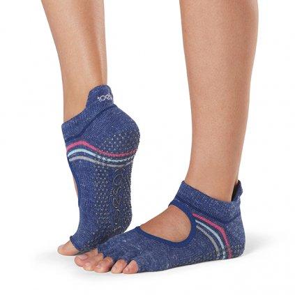 Toesox Halftoe Bellarina Grip csúszásgátló zokni Jock (Veľkosť oblečenia M 39-42.5)
