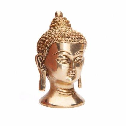 budk11 meditation buddah kopf statue seitlich2