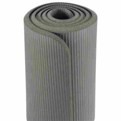 gym60a yoga meditation pilates gymnastikmatte aubergine set mit tasche