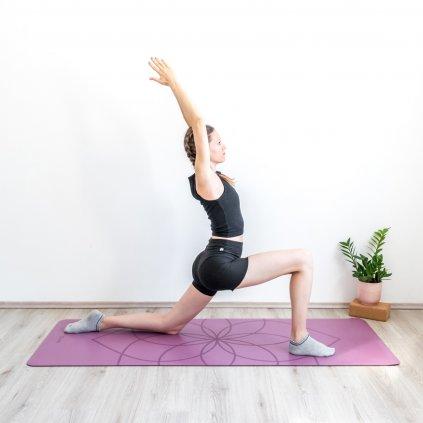 630llf yoga yogamatte bodhi phoenix lila above Farbe neu