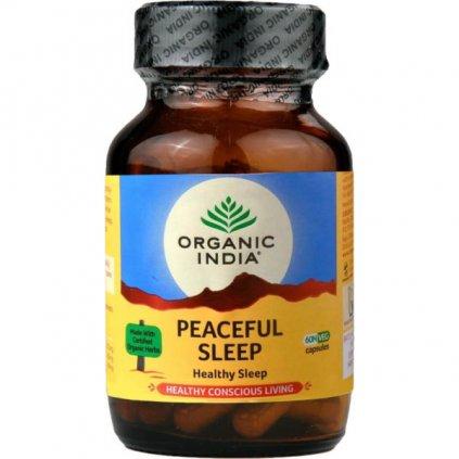 Peaceful Sleep kapsuly Organic India 600x600