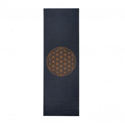 896afl yoga design yogamatte blume des lebens anthrazit design
