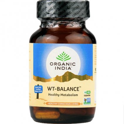 Weight Balance kapsuly Organic India 600x600