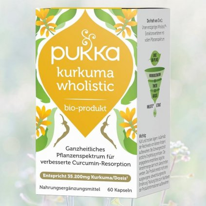 Kurkuma wholistic Pukka 60 Kapseln