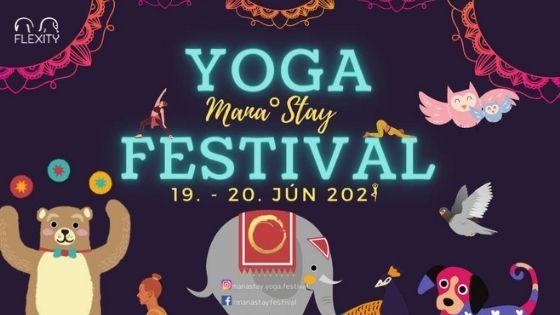 Medzinárodný festival jogy Mana Stay Yoga festival 2021 v Bratislave