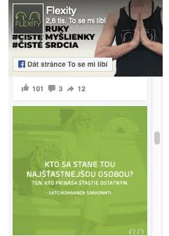 facebook flexity