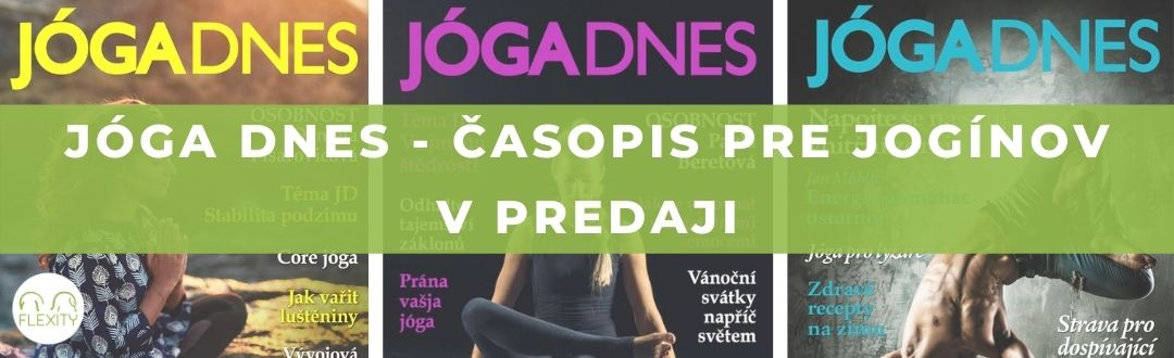 JOGA DNES 1. časopis pre jogínov v predaji