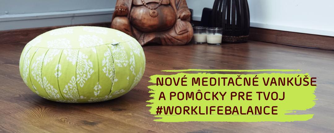 Meditacne vankuse a pomocky