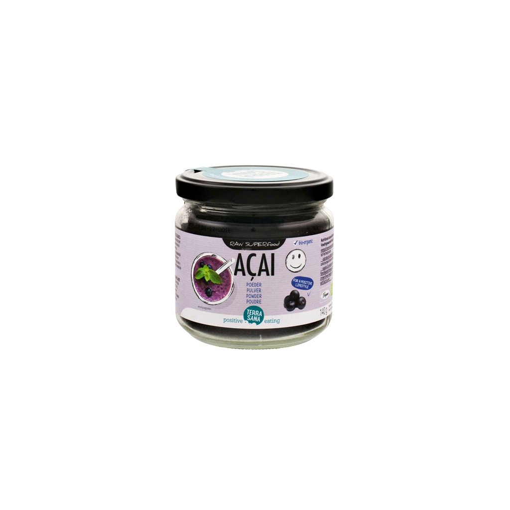 Acai Pulver Bio Superfood 140g