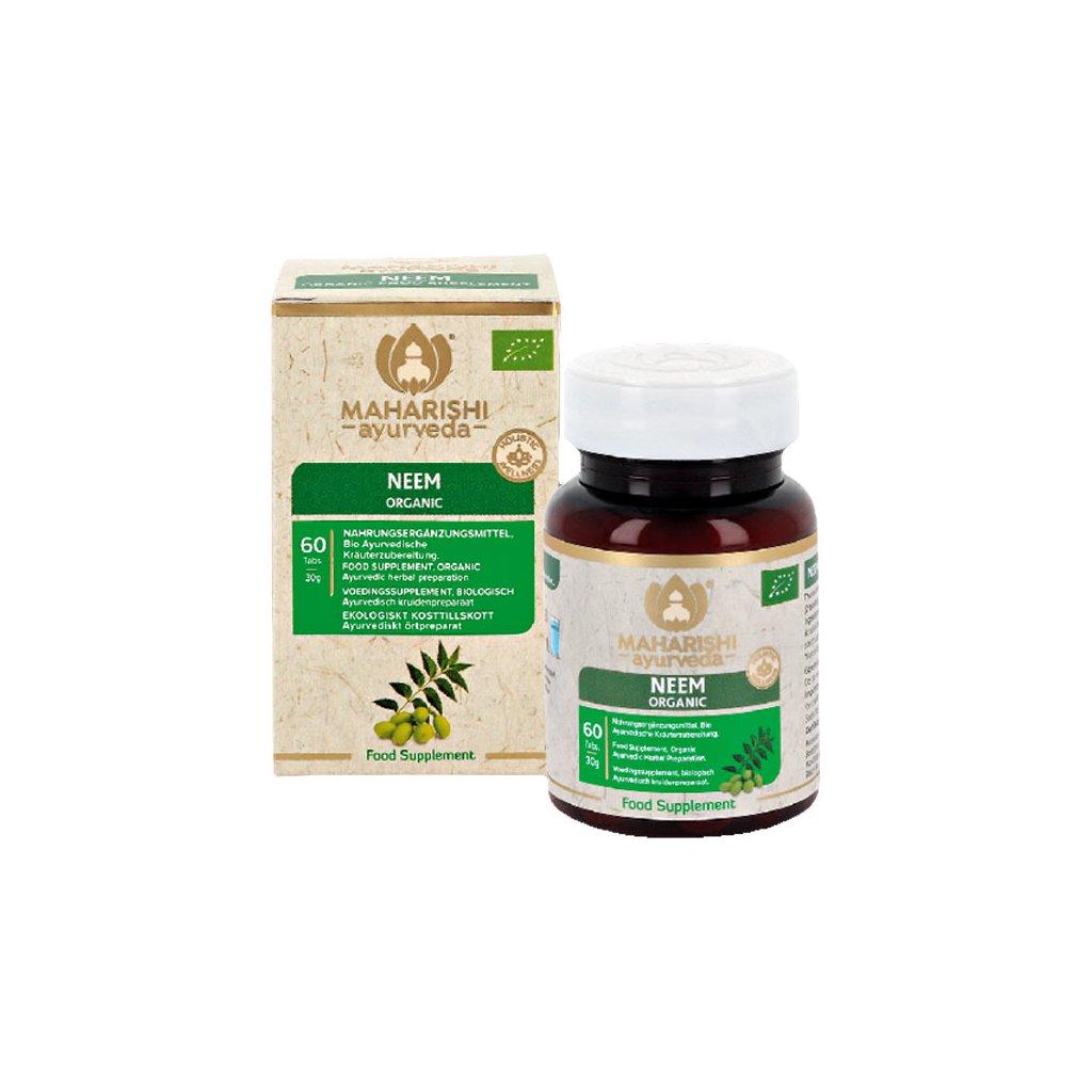 Maharishi Ayurveda Neem Bio Nimbovník tablety 60 ks