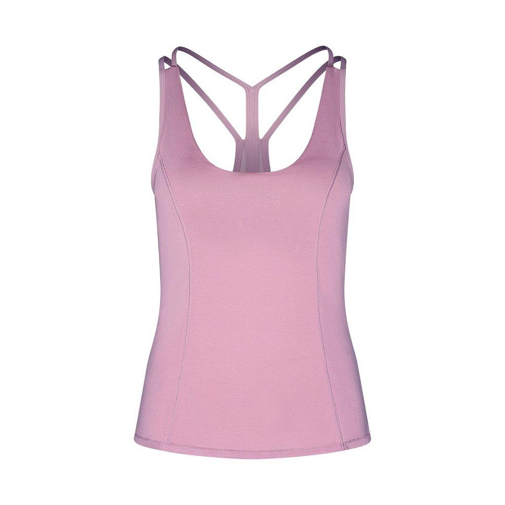 bodhi niyama essentials tanvi racerback yoga tank top damske tielko staroruzove