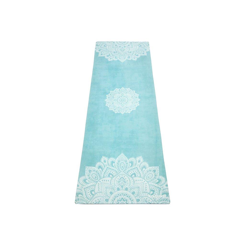 Objedajte si Yoga Design Lab Travel Mat Mandala Turquoise podložka 1mm za 48,99 Dovoz od 75 EUR zdarma, doručenie do 2 dní, 98% spokojnosť, 100 dní na vrátenie.  1