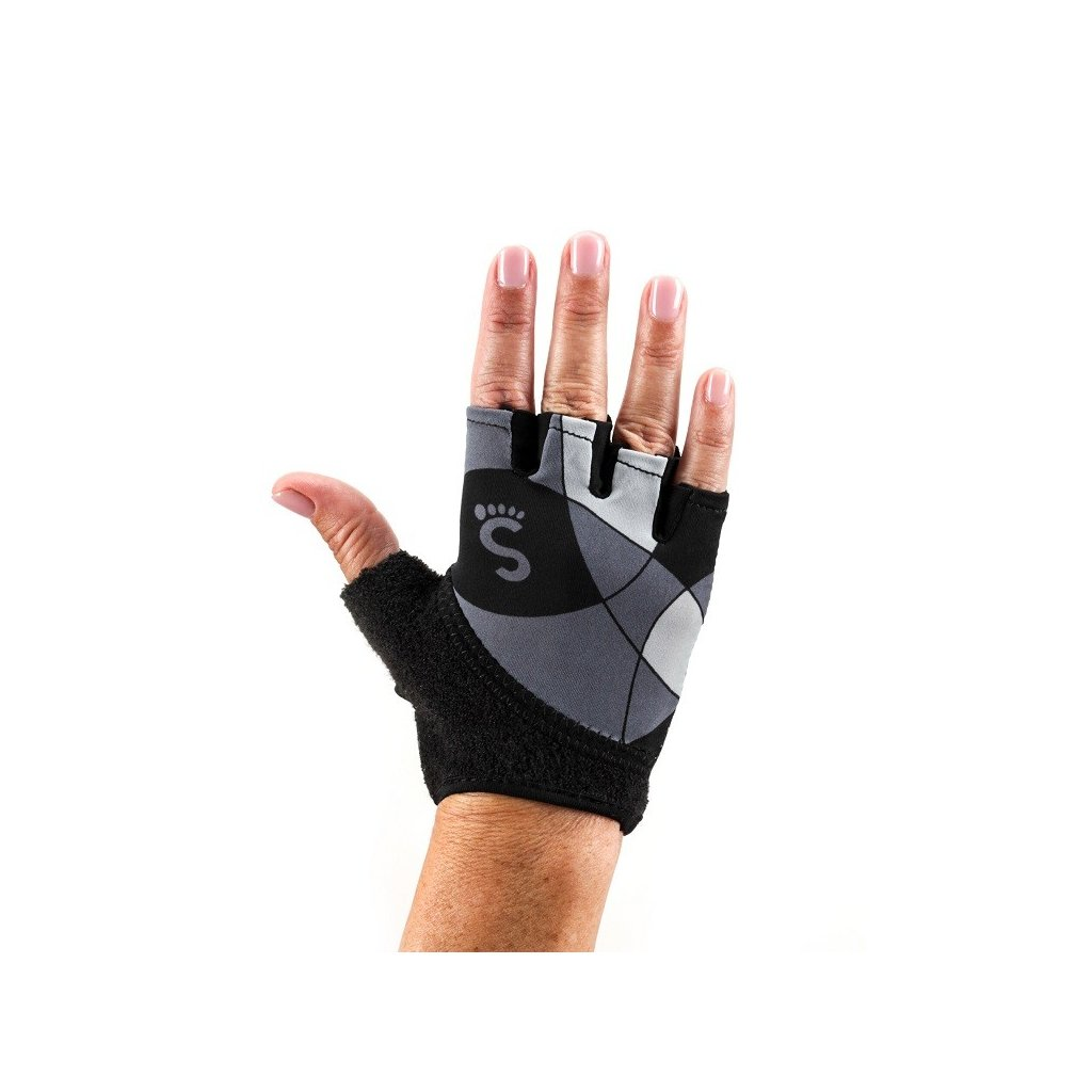 web gloves grip decogrey front rukavice acroyoga