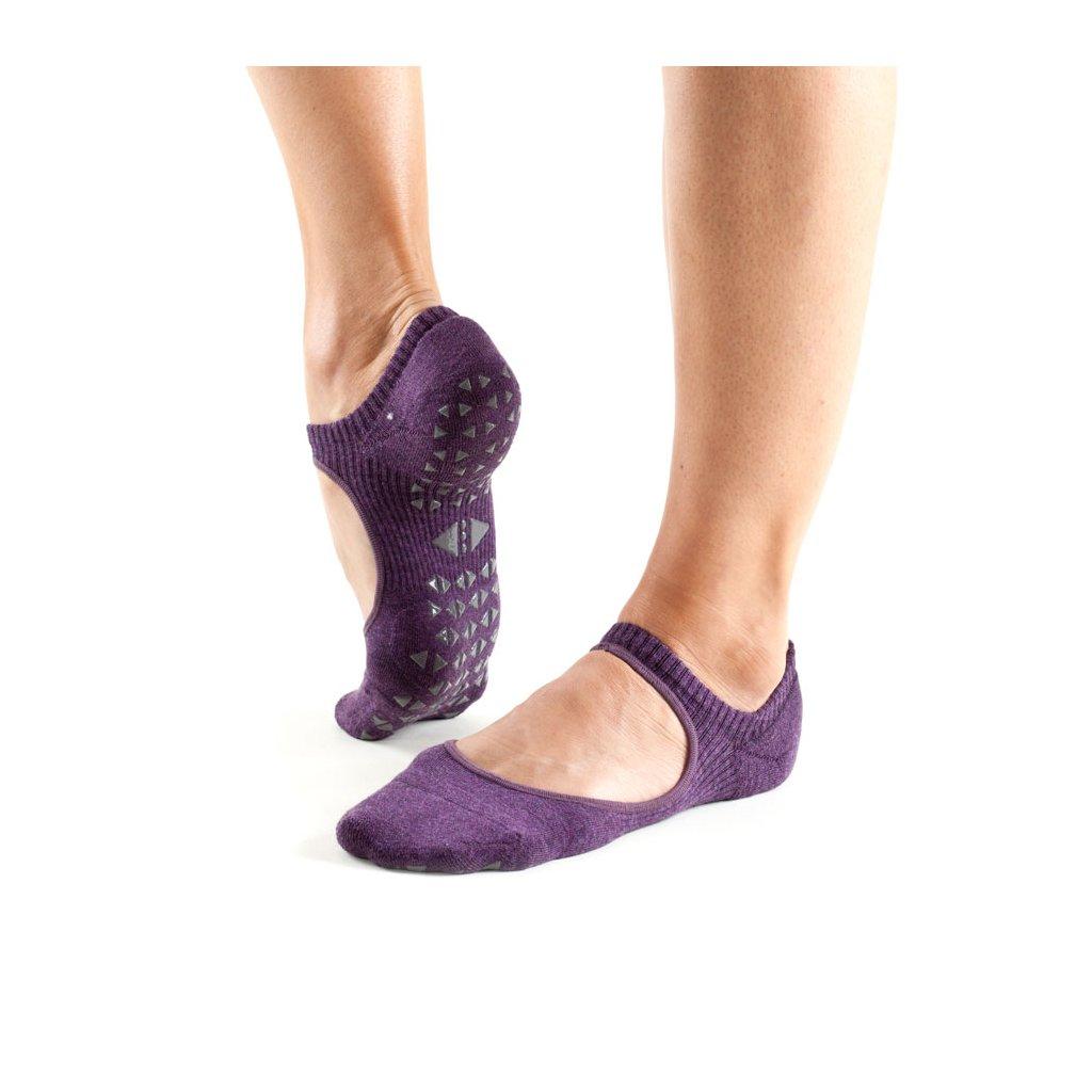 Tavi Noir Grip Socks Chey Lavander protišmykové ponožky otvorené ... 76ff49122b
