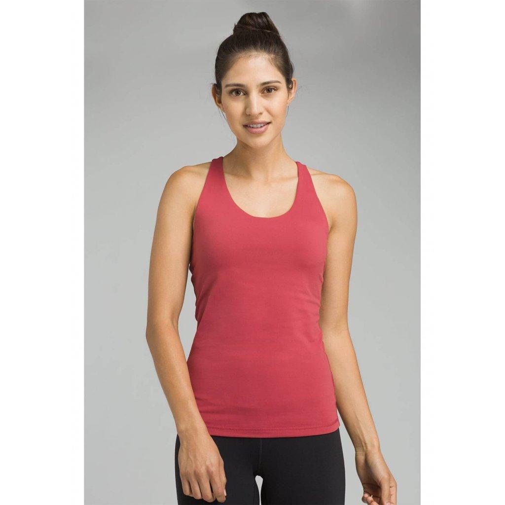 6970a1caed0cf Prana Verana Top športové tielko (červené)   Flexity JOGA Lifestyle