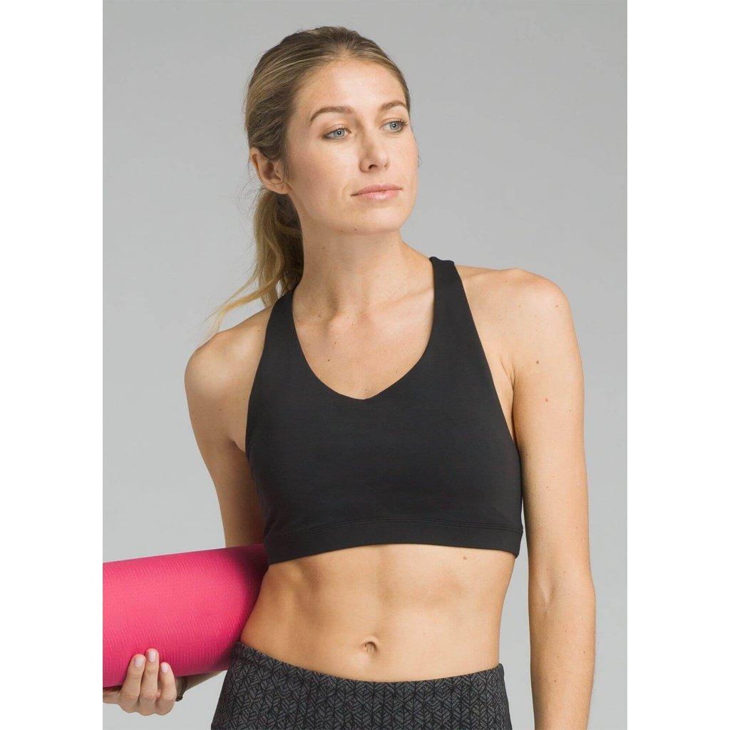 67fa521ee Prana Verana Bra športová podprsenka (čierna) | Flexity JOGA Lifestyle
