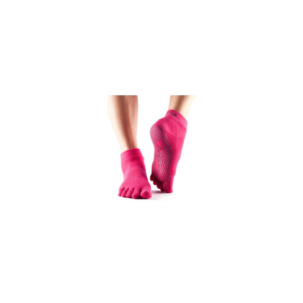 Objedajte si ToeSox Fulltoe Ankle grip ponožky Fuchsia (ružová) za 13,99 Dovoz od 75 EUR zdarma, doručenie do 2 dní, 98% spokojnosť, 100 dní na vrátenie. 696/S 1