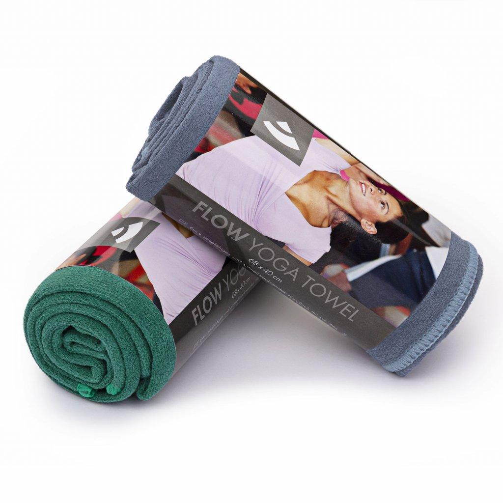 Bodhi joga uterák na ruky No Sweat 68 x 40 cm (baklažánová)