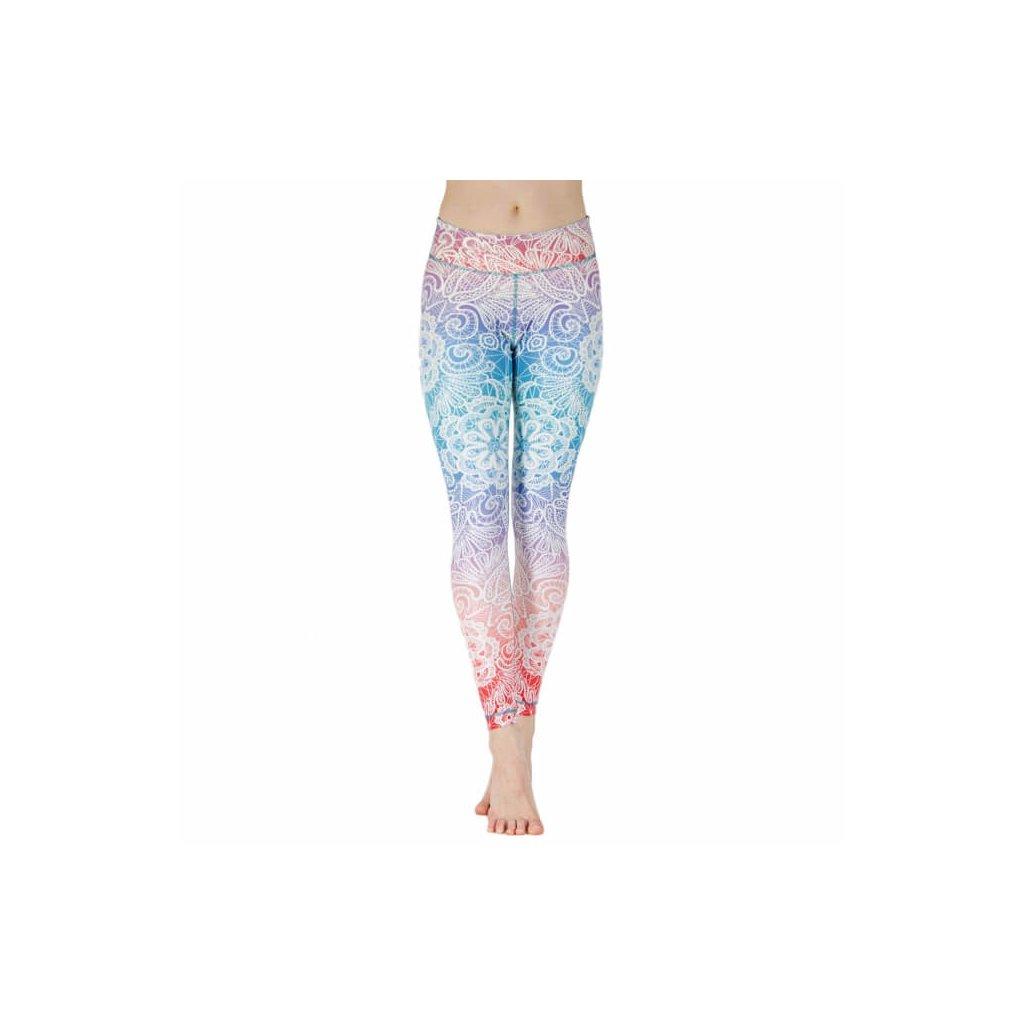 NLSSCx yoga niyama leggins yogahose sweet summer child front