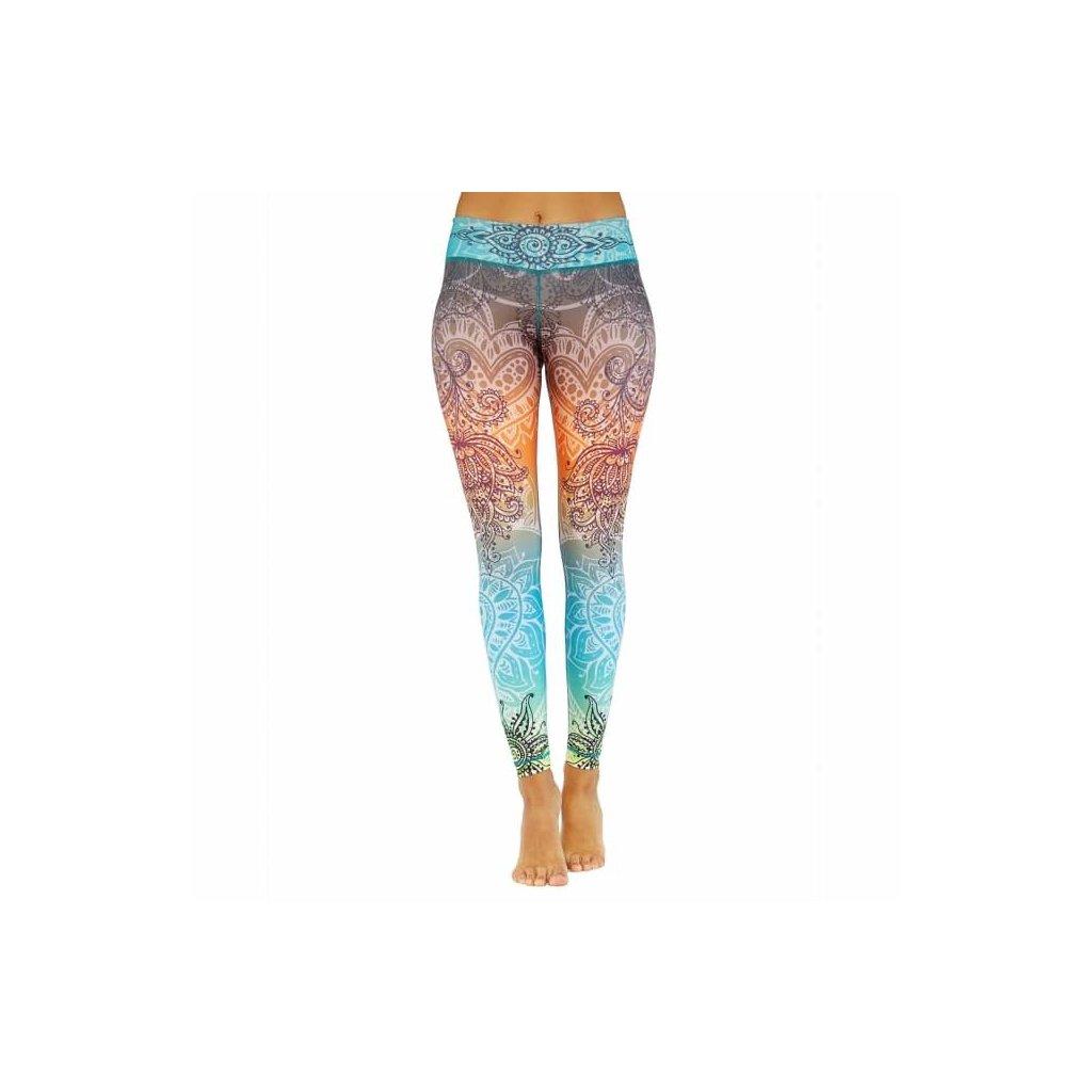 nlslx yoga niyama leggings yoga hose summer love front